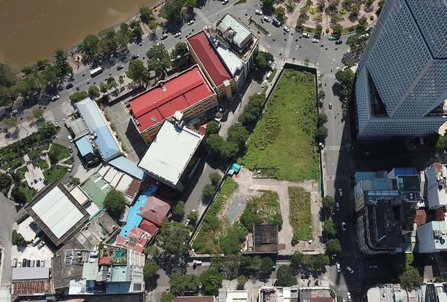 Liên quan sai phạm của ông Nguyễn Hữu Tín: Cận cảnh lô đất vàng 2-4-6 Hai Bà Trưng - Ảnh 2.