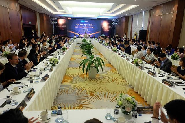 Tập đoàn FLC tổ chức tọa đàm chia sẻ tầm nhìn, đối thoại cùng đại lý - Ảnh 1.