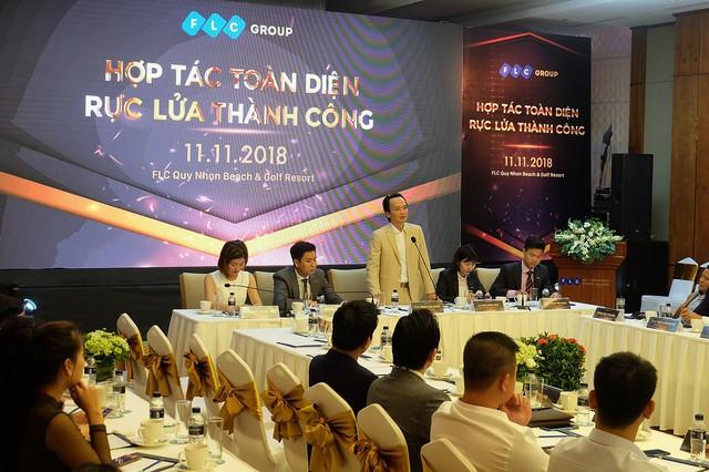 Tập đoàn FLC tổ chức tọa đàm chia sẻ tầm nhìn, đối thoại cùng đại lý - Ảnh 2.