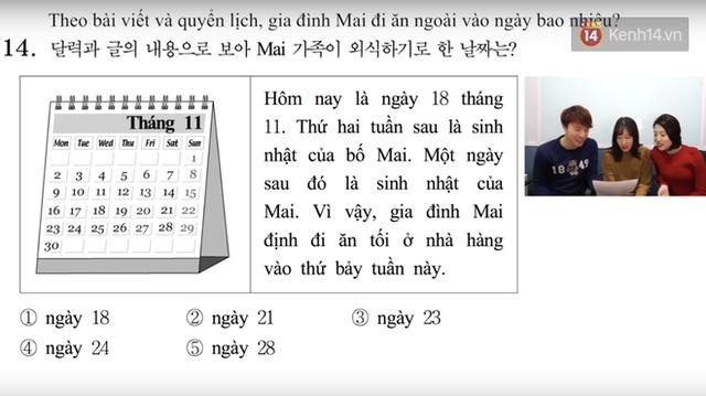 Thử sức với đề thi môn Tiếng Việt trong kỳ thi Đại học ở Hàn Quốc: Tưởng không khó mà khó không tưởng - Ảnh 6.