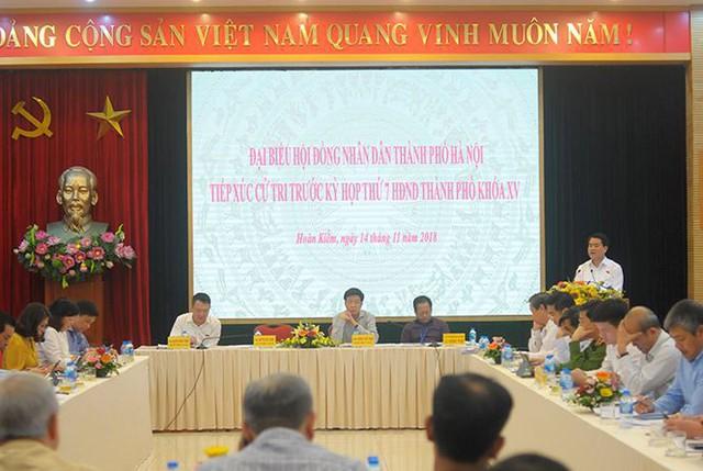 Chủ tịch Hà Nội: Công khai trách nhiệm vụ đất rừng Sóc Sơn trước Tết - Ảnh 1.