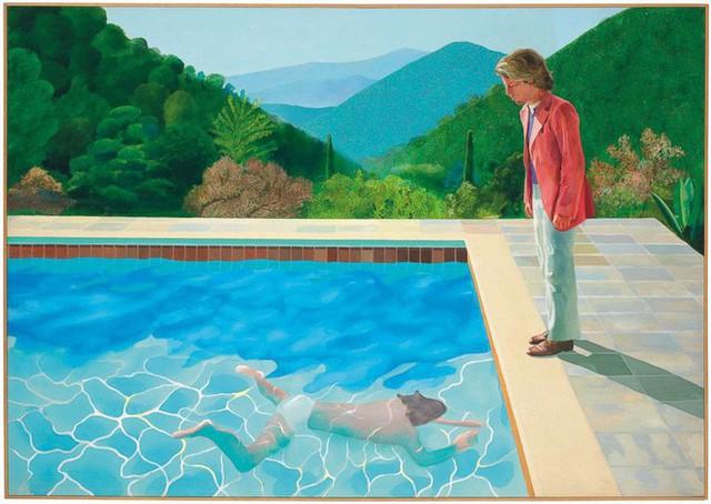 Bức vẽ hai người bên bể bơi này có giá kỷ lục 2.000 tỷ đồng nhưng tại sao nó lại đắt thế? - Ảnh 1.