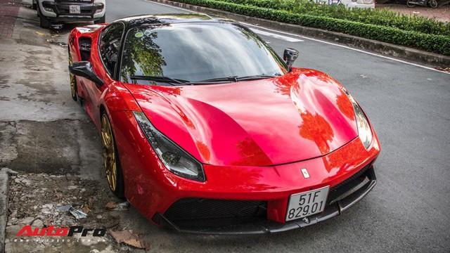 Dàn siêu xe Ferrari rủ nhau đi làm đẹp tại Sài Gòn - Ảnh 14.