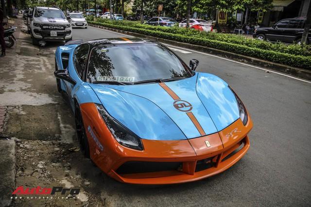 Dàn siêu xe Ferrari rủ nhau đi làm đẹp tại Sài Gòn - Ảnh 8.