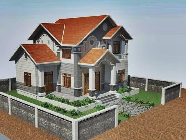 10 thiết kế biệt thự 2 tầng có mức đầu tư vừa phải - Ảnh 3.