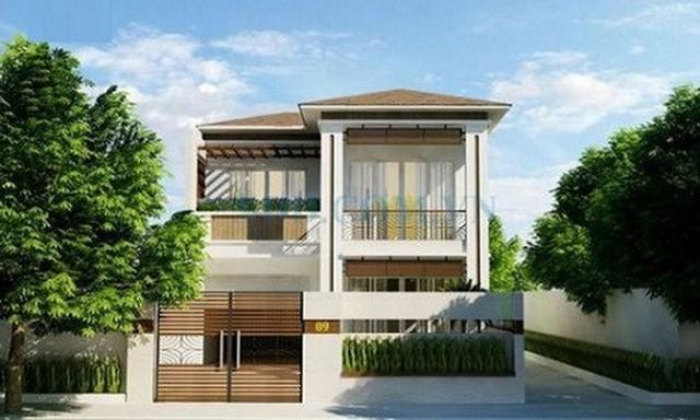 10 thiết kế biệt thự 2 tầng có mức đầu tư vừa phải - Ảnh 6.