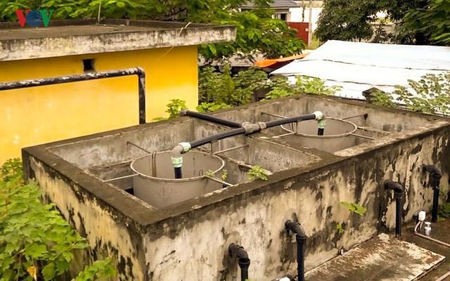 """Trạm xử lý nước thải ở Hà Nội """"đắp chiếu"""" sau 10 năm xây dựng - Ảnh 6."""