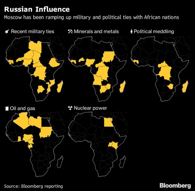 Doanh nhân bí ẩn với biệt danh Đầu bếp của ông Putin đang vươn vòi bạch tuộc khắp lục địa đen - Ảnh 1.