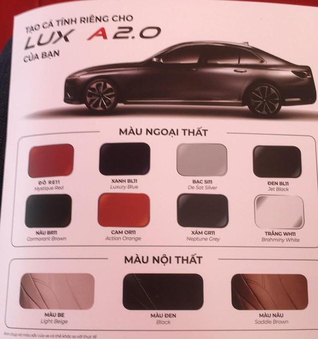 Mẫu xe sedan và SUV của VinFast có 8 lựa chọn màu sắc - Ảnh 1.