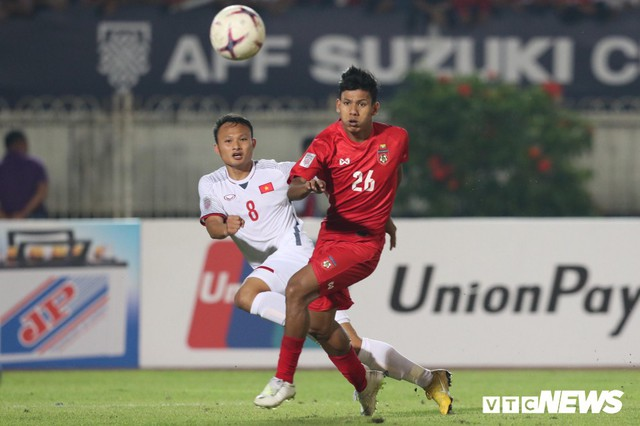 Trọng tài mắc sai lầm, tuyển Việt Nam bị Myanmar cầm hòa - Ảnh 1.