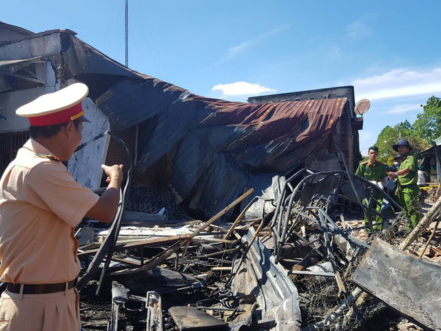 Vụ tai nạn kinh hoàng khiến 6 người tử vong: Xe bồn chạy gần 100km/h trước khi xảy ra tai nạn - Ảnh 1.