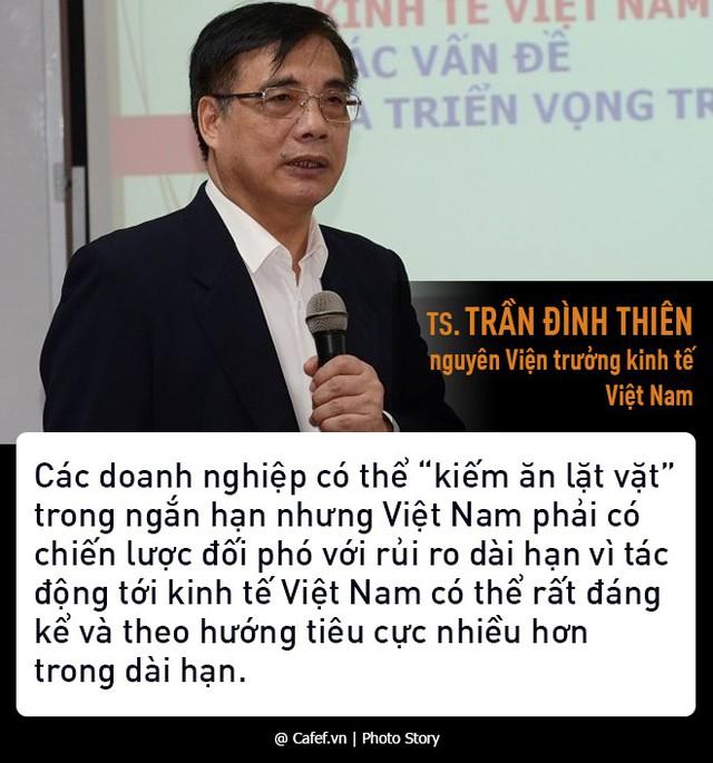 TS. Trần Đình Thiên: Chiến tranh thương mại có thể khiến Việt Nam ở thế tránh vỏ dưa gặp vỏ dừa  - Ảnh 3.