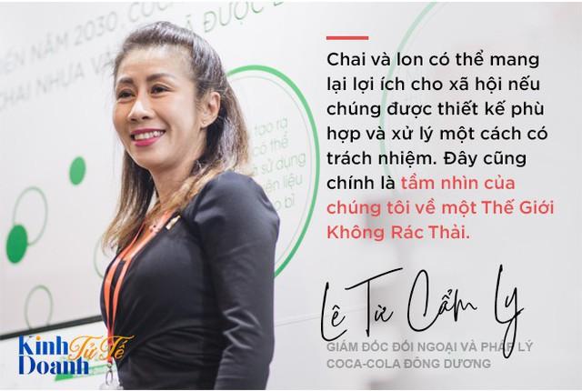 Bà Lê Từ Cẩm Ly: Tái chế chai nhựa sẽ trở thành một cảm hứng sống của Coca-Cola! - Ảnh 2.