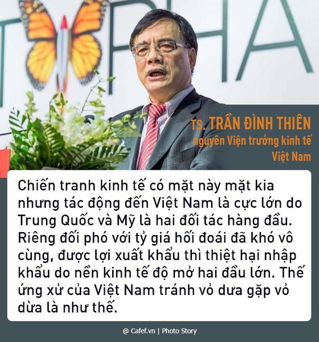 TS. Trần Đình Thiên: Chiến tranh thương mại có thể khiến Việt Nam ở thế tránh vỏ dưa gặp vỏ dừa  - Ảnh 1.