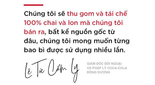 Bà Lê Từ Cẩm Ly: Tái chế chai nhựa sẽ trở thành một cảm hứng sống của Coca-Cola! - Ảnh 4.