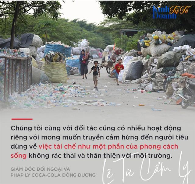 Bà Lê Từ Cẩm Ly: Tái chế chai nhựa sẽ trở thành một cảm hứng sống của Coca-Cola! - Ảnh 10.