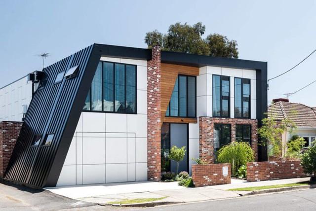 Ngôi nhà mái lệch giúp giải nhiệt và chống thấm hiệu quả - Ảnh 2.