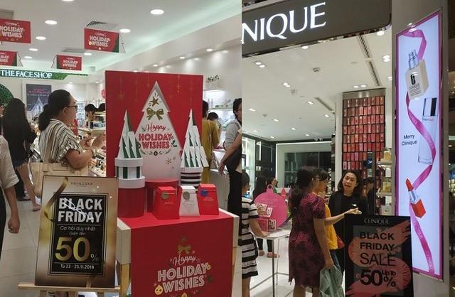 Black Friday 2018 ở TP. Hồ Chí Minh: Các cửa hàng phụ kiện, mỹ phẩm lên ngôi - Ảnh 5.