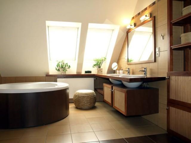 Những mẫu kiến trúc phòng tắm cuốn hút mọi ánh nhìn - Ảnh 1.