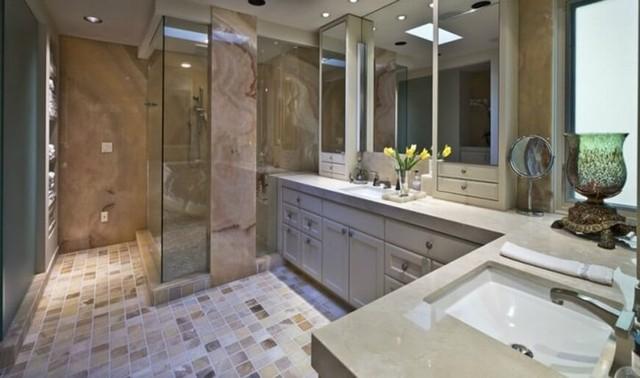 Những mẫu kiến trúc phòng tắm cuốn hút mọi ánh nhìn - Ảnh 5.
