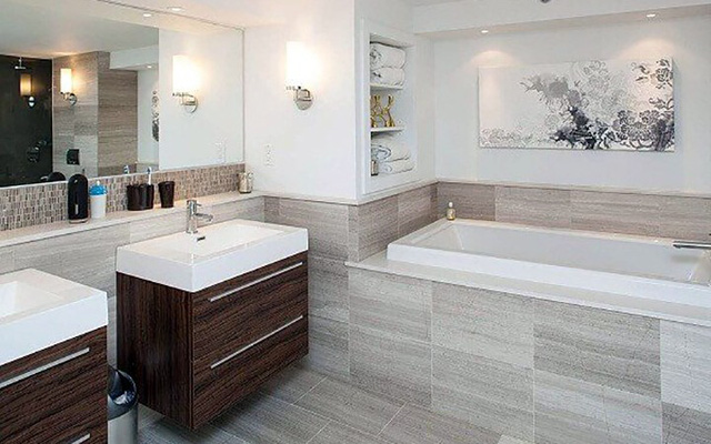 Những mẫu kiến trúc phòng tắm cuốn hút mọi ánh nhìn - Ảnh 9.
