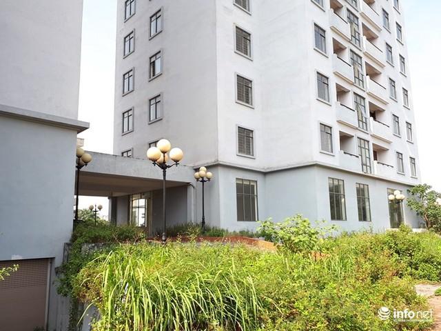 Trăm căn hộ cao tầng tái an cư mới tinh biến thành nhà ma hoang phế giữa Hà Nội - Ảnh 4.