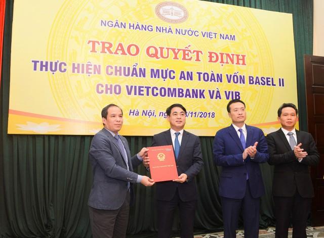 Vietcombank đáp ứng chuẩn mực Basel II tại Việt Nam - Ảnh 1.