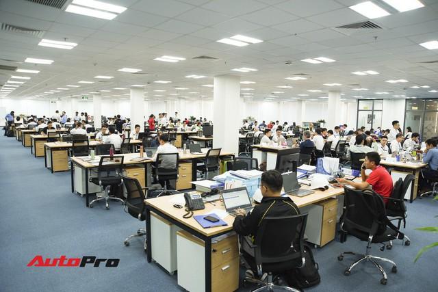 Khu văn phòng nhà máy sản xuất xe máy điện thông minh VinFast đẹp và sạch sẽ như resort - Ảnh 15.
