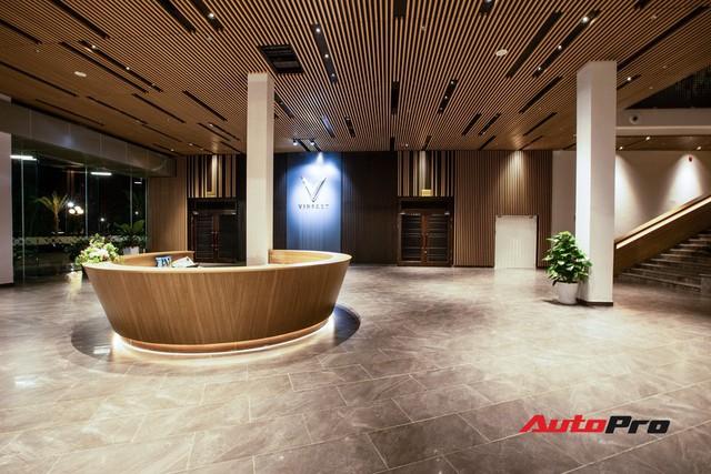 Khu văn phòng nhà máy sản xuất xe máy điện thông minh VinFast đẹp và sạch sẽ như resort - Ảnh 20.