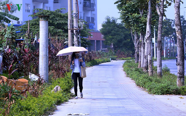 Cận cảnh phố 8 làn xe ở Hà Nội được đề xuất đặt tên Trịnh Văn Bô - Ảnh 15.