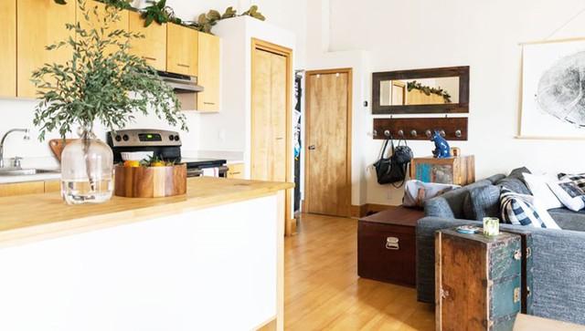 Ngôi nhà mới tận dụng bên trong xe cũ khéo léo - Ảnh 10.
