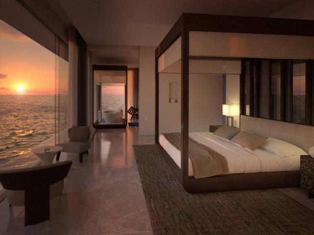 Bên trong khách sạn dưới biển đầu tiên trên thế giới, nơi bạn có thể ngủ cạnh cá mập với chi phí 1 tỷ/1 đêm - Ảnh 3.