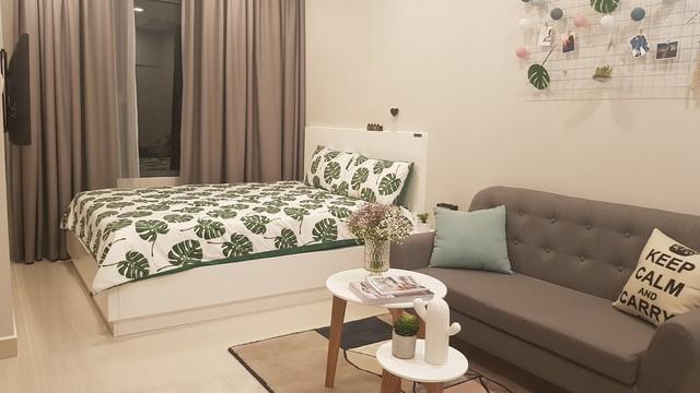 Cận cảnh căn hộ VinCity diện tích 28 m2 tại Hà Nội - Ảnh 4.