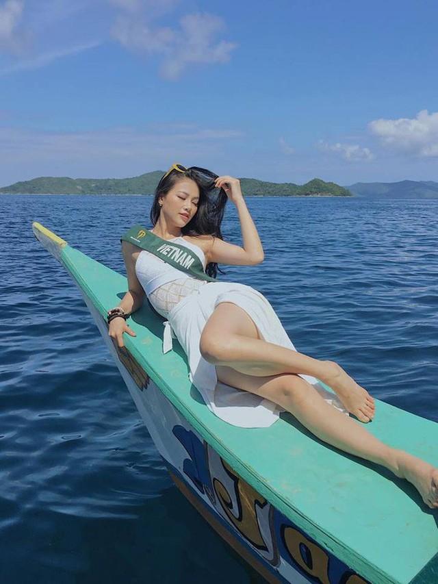Nhan sắc nóng bỏng của mỹ nhân vừa đăng quang Hoa hậu Trái đất, đem vinh quang về cho Việt Nam - Ảnh 8.