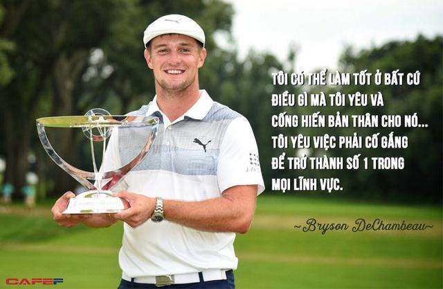 """Bryson DeChambeau: Chân dung """"nhà khoa học"""" của làng golf với lối chơi theo nghiên cứu vật lý - Ảnh 1."""
