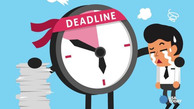Ai cũng căng thẳng khi nhắc tới deadline nhưng làm việc không có giới hạn sẽ chỉ dẫn tới thất bại mà thôi - Ảnh 1.