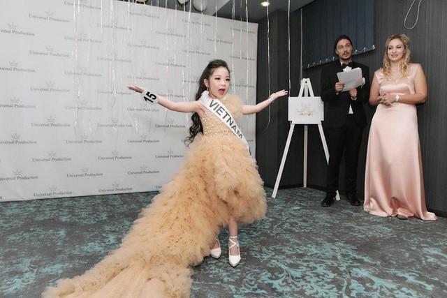 Cô bé Việt Nam 6 tuổi trở thành tân Hoa hậu nhí Á Âu 2018 - Ảnh 7.