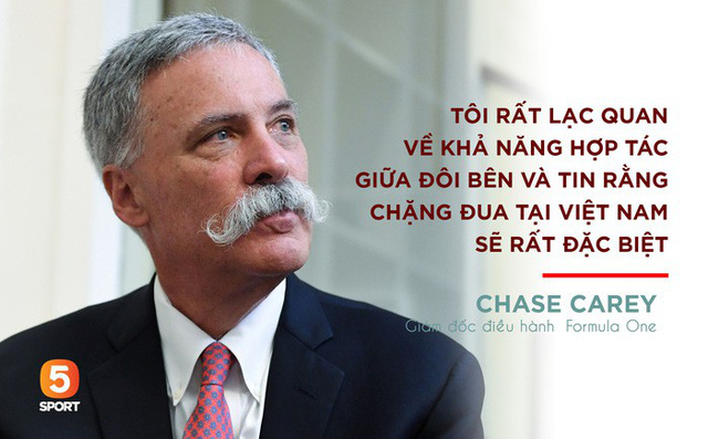 CEO của F1: Chặng đua tại Hà Nội sẽ rất đặc biệt - Ảnh 1.