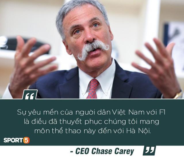 CEO của F1: Chặng đua tại Hà Nội sẽ rất đặc biệt - Ảnh 3.