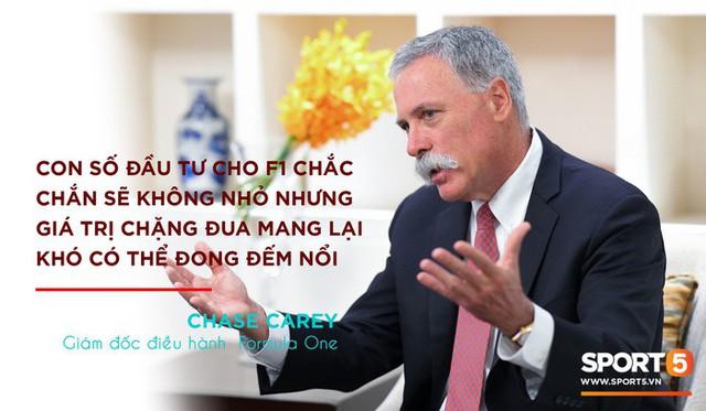 CEO của F1: Chặng đua tại Hà Nội sẽ rất đặc biệt - Ảnh 4.