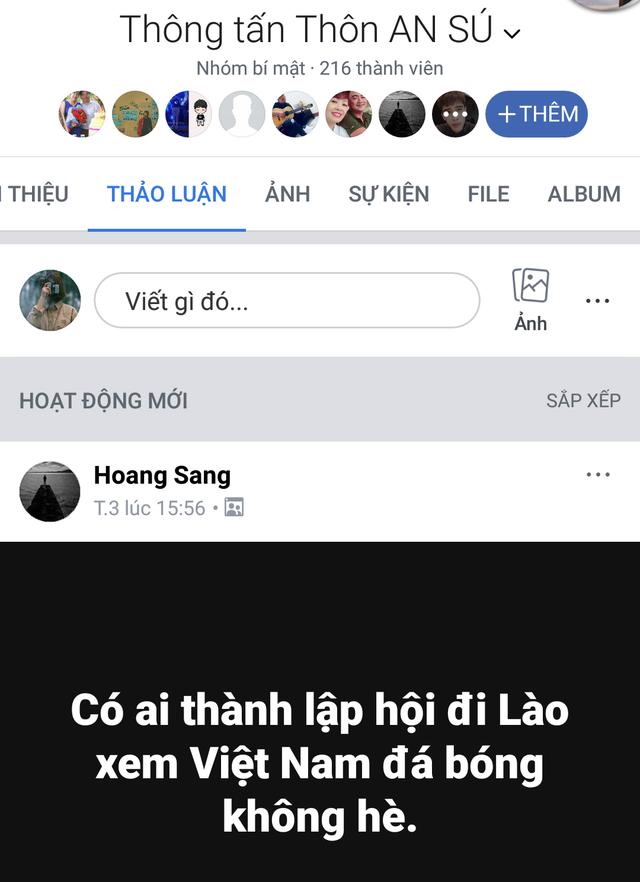 CĐV Việt Nam sang Lào cổ vũ AFF Cup 2018: Cả thôn rủ nhau lên đường, đói thì dừng ăn, xe hỏng thì dừng sửa - Ảnh 2.