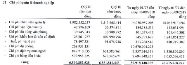 Vitranschart (VST) báo lỗ 182 tỷ đồng 9 tháng đầu năm, tổng lỗ lũy kế lên đến 1.485 tỷ đồng - Ảnh 3.