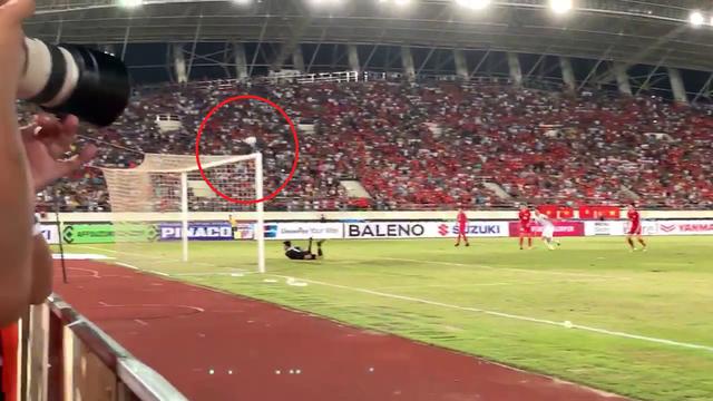 Cận cảnh bàn thắng bí ẩn của Anh Đức vào lưới ĐT Lào - Ảnh 2.