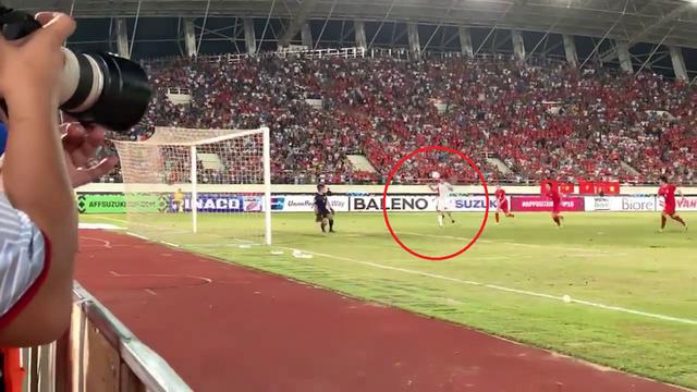 Cận cảnh bàn thắng bí ẩn của Anh Đức vào lưới ĐT Lào - Ảnh 3.