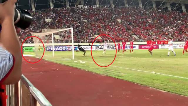 Cận cảnh bàn thắng bí ẩn của Anh Đức vào lưới ĐT Lào - Ảnh 4.
