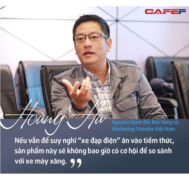 """Cựu Giám đốc bán hàng và marketing Yamaha Việt  Nam: Xe điện sẽ """"không có cửa"""" nếu chỉ… bảo vệ môi trường - Ảnh 3."""