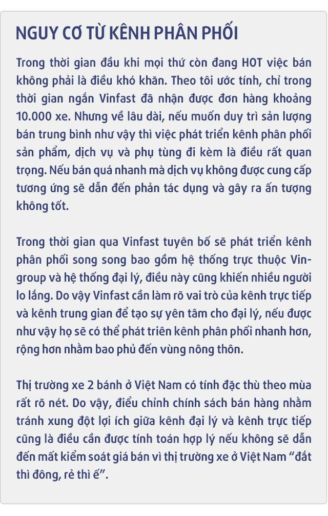 """Cựu Giám đốc bán hàng và marketing Yamaha Việt  Nam: Xe điện sẽ """"không có cửa"""" nếu chỉ… bảo vệ môi trường - Ảnh 8."""