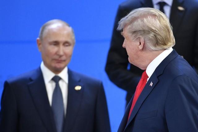 G20 khai mạc, Tổng thống Putin đập tay Thái tử Ả rập một cách thân thiện - Ảnh 3.