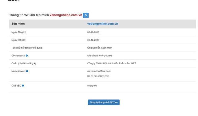 Xuất hiện nhiều website giả mạo VFF bán vé trận chung kết AFF Cup 2018 Việt Nam - Malaysia - Ảnh 2.