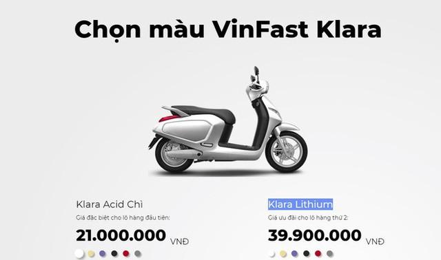 Xe máy điện của VinFast chính thức tăng giá bán - Ảnh 1.